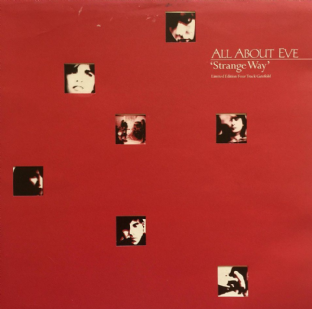 "All About Eve ‎- Strange Way (12"") (EX-/VG-)"